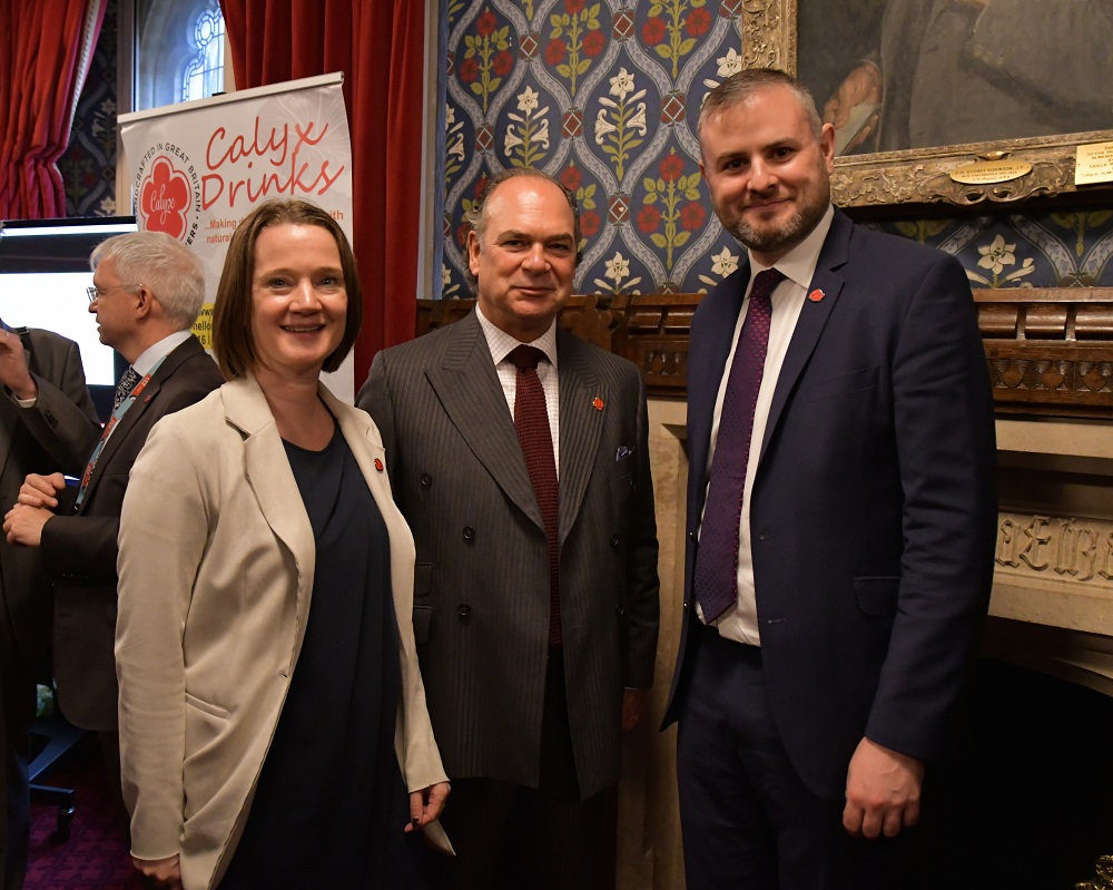 Rachel McQueen (Chief Executive of Marketing Lancashire), Tony Attard OBE (Chair of the Board of Marketing Lancashire), Andrew Stephenson MP