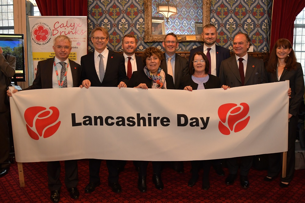 Mark Menzies MP, David Morris MP, Damien Moore MP, Marie Rimmer CBE, Paul Maynard MP, Kate Hollern MP, Andrew Stephenson MP, Tony Attard OBE (Chair of the Board of Marketing Lancashire) and Angie Ridgwell (Chief Executive of Lancashire County Council)