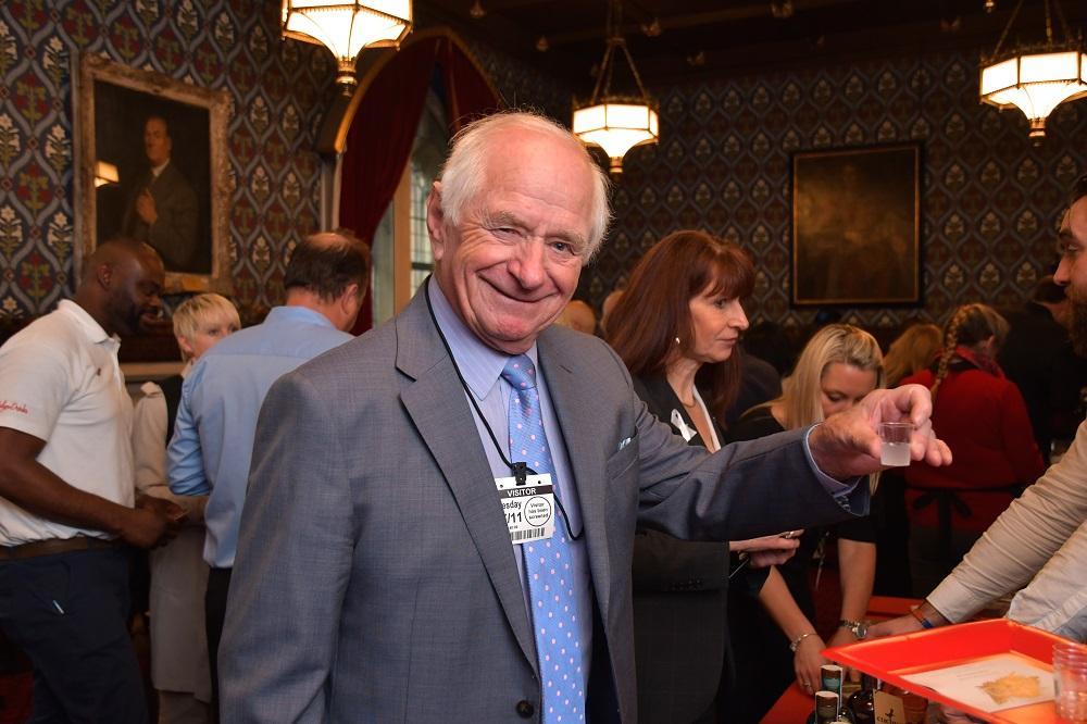 Johnny Ball (President of Lancastrians in London)