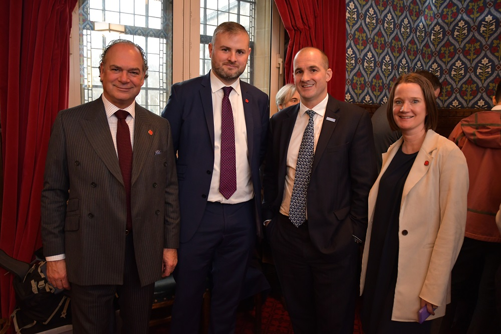 Tony Attard OBE (Chair of the Board of Marketing Lancashire), Andrew Stephenson MP, Jake Berry MP and Minister for The Northern Powerhouse and Rachel McQueen (Chief Executive of Marketing Lancashire)