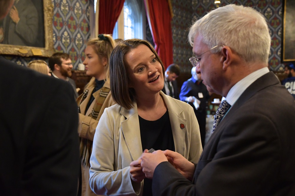 Rachel McQueen (Chief Executive of Marketing Lancashire) and Mark Menzies MP
