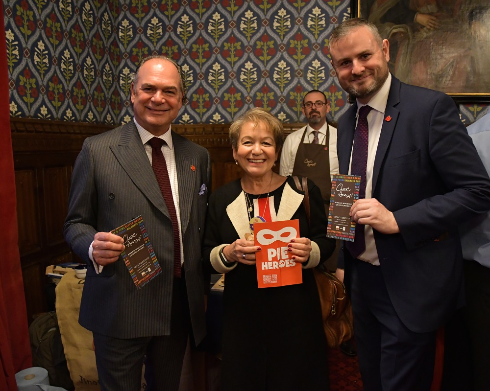 Tony Attard OBE (Chair of the Board of Marketing Lancashire) Dame Rosie Winterton MP and Deputy Speaker and Andrew Stephenson MP