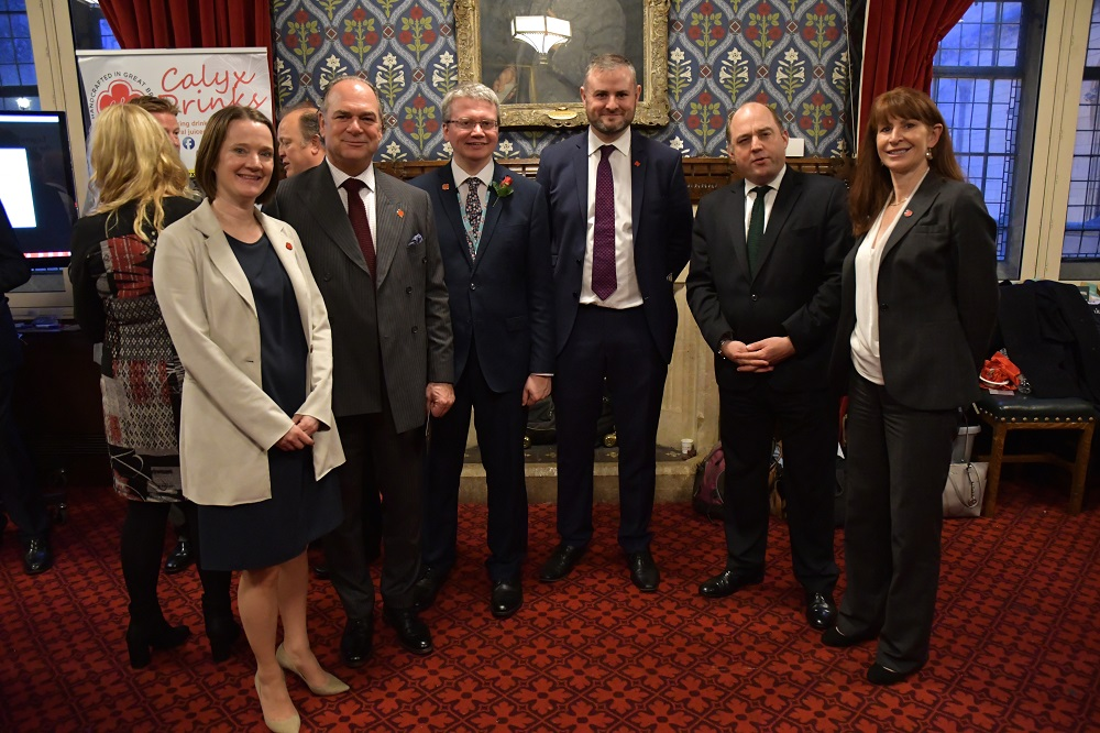 Rachel McQueen (Chief Executive of Marketing Lancashire), Tony Attard OBE (Chair of the Board of Marketing Lancashire), Lancashire County Councillor Michael Green, Andrew Stephenson MP, Ben Wallace MP and Minister of State for Security, Angie Ridgwell (Chief Executive of Lancashire County Council)