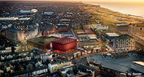 £300m Leisure development revealed for Blackpool Central Station site