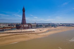 Blackpool credit Sky Shots - Karl Houghton